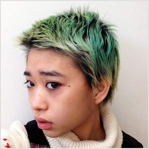 森川葵 髪型 緑 画像
