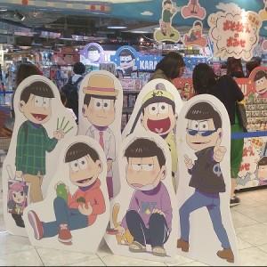 おそ松さんのおみせ 大阪梅田店 画像
