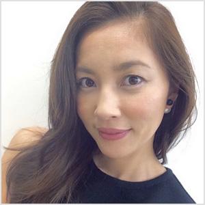 髪型がきれいな瀬戸朝香